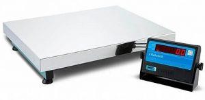 Balança Eletrônica 300 Kg Micheletti com Cobertura Inox
