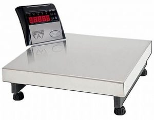 Balança Eletrônica 300 Kg Plataforma Inox Ramuza DP-300