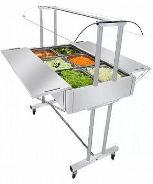 Buffet Self Service Salada 6 Cubas Venâncio EA6MX Master Gelo-x
