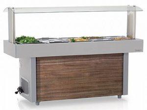 Mesa Refrigerada Linha Buffet Self-Service 1,50M GMRA-150 Gelopar