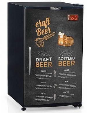 Refrigerador de Bebidas Cervejeira 120l GRBA-120GW Gelopar