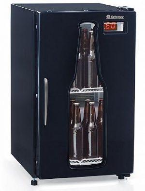 Refrigerador de Bebidas Cervejeira 120L Gelopar GRBA-120C PR