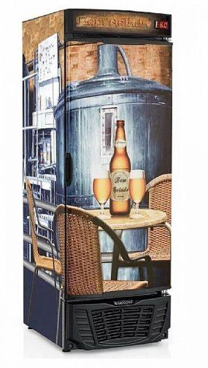Cervejeira 570 Litros GRBA-570F Gelopar Porta Cega