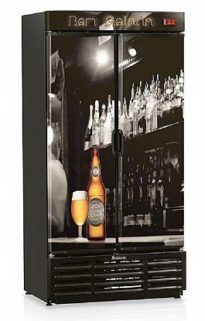 Cervejeira 760L GRBA-760B Gelopar Porta Cega