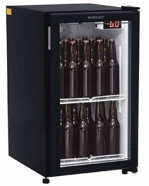 Refrigerador de Bebidas Cervejeira 120L Gelopar GRBA-120PV PR
