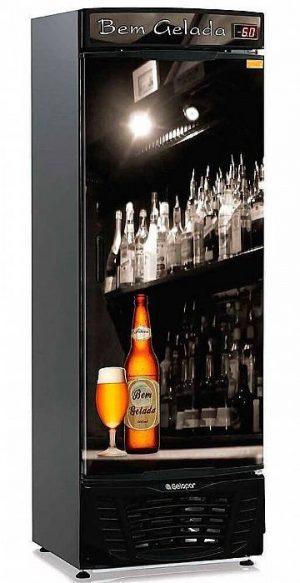 Cervejeira 450L GRBA-450B Gelopar Porta Cega