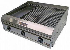 Char Broiler a Gás 65 cm Di Cozin CBD-640 Grelha e Chapa