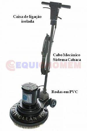 Enceradeira Industrial 40 Cm - PS-400 Sthil Clean