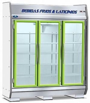 Expositor Refrigerado Vertical 3 Portas 1150 Litros Fortsul EAS-180 GL