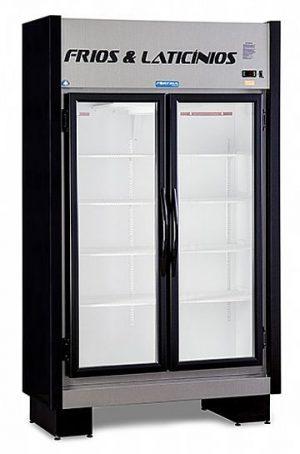 Expositor Refrigerado Vertical 2 Portas 690 Litros EAS-102 RT Black Fortsul