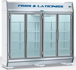 Expositor Refrigerado Vertical 4 Portas 1520 Litros EAS 230 Fortsul