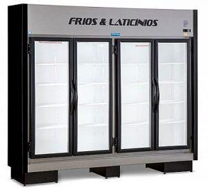 Expositor Refrigerado Vertical 4 Portas 1340 Litros Fortsul EAS-104 RT Black