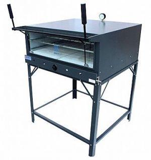Forno Industrial a Gás com Pedra Refratária Metal Brey FI-90