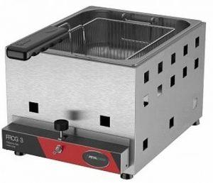 Fritadeira a Gás 1 Cuba 3 Litros de Óleo Metalcuba TFRG-03
