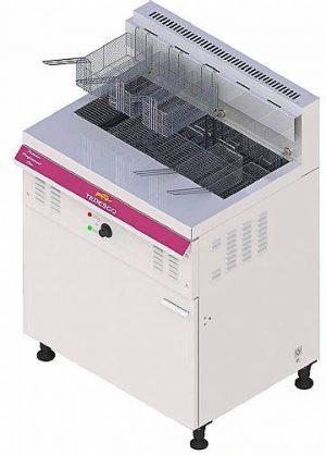 Fritadeira Industrial Elétrica Água e Óleo com 5 Cestos Tedesco FGE-05