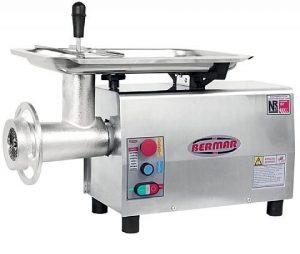 Moedor de Carne Boca 22 Bermar BM-20 Inox Bivolt Motor 1 HP
