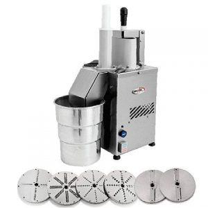 Processador de Alimentos Industrial com 6 Discos Becker PRAB-200