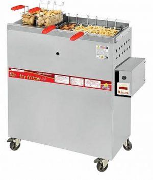 Fritadeira Industrial Água e Óleo a Gás 5 Cestos Progás PR-3000 BPAT Style